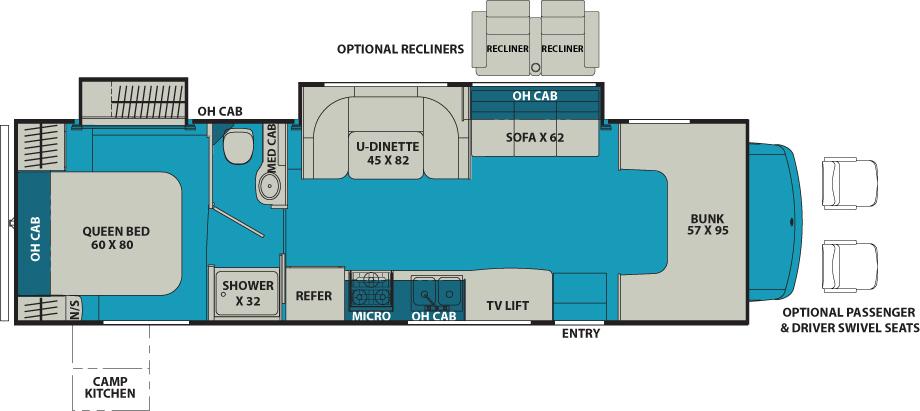 Coachmen Leprechaun Floor Plans