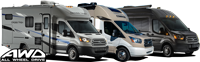 All-Wheel Drive (AWD) RVs